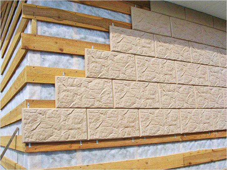 Фасадная плитка для улицы пропорции