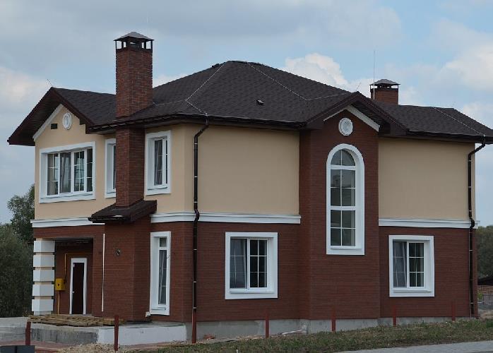 Отделка цоколя и фасада домов