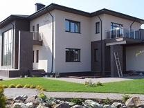 Утепление и фасад деревянного дом