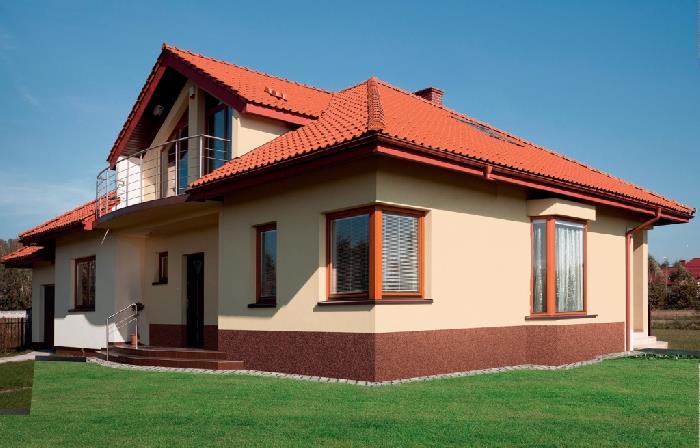 Декоративная фасадная штукатурка Ceresit